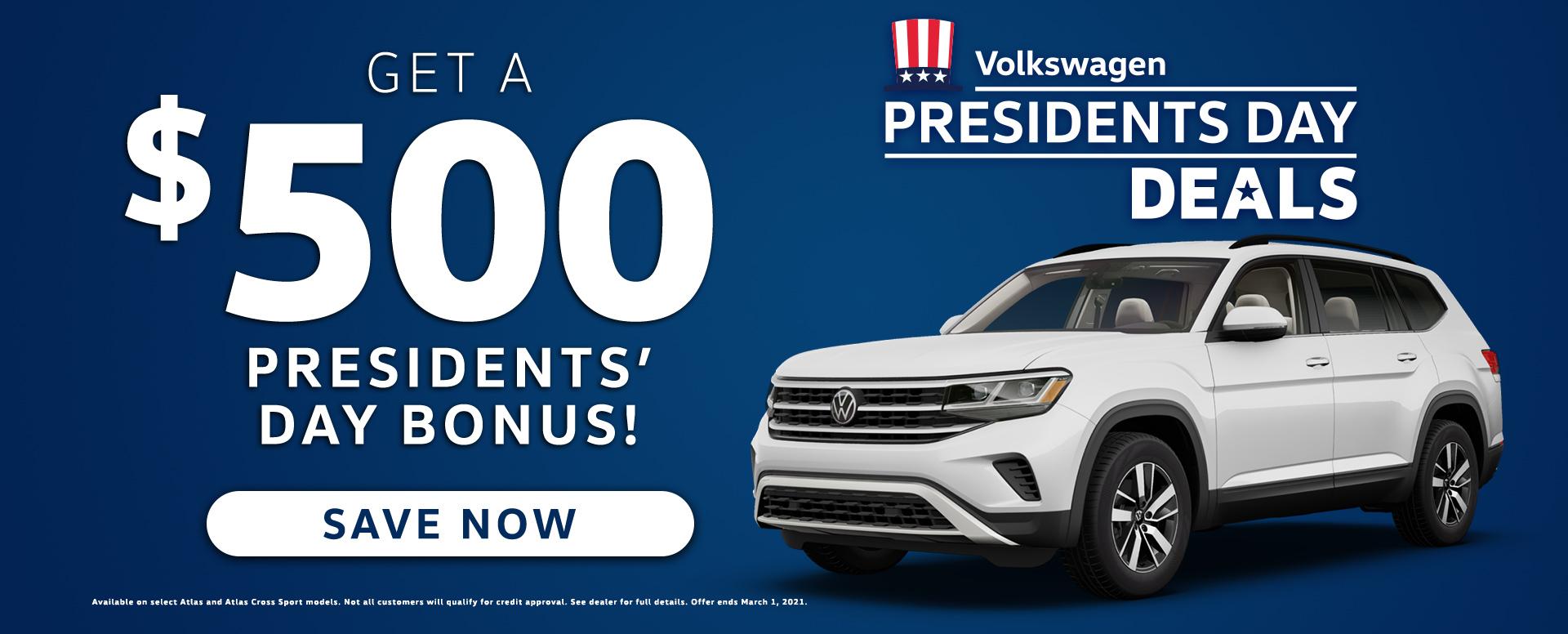 Volkswagen monthly
