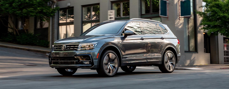 Volkswagen tiguan side view
