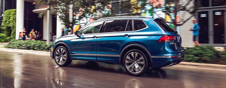 Volkswagen tiguan display view