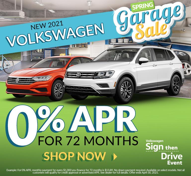 Volkswagen lineup