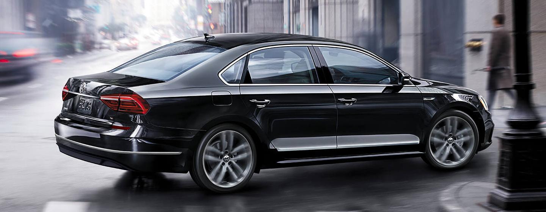 Volkswagen Passat side view