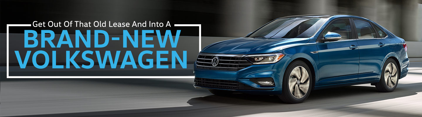 Get Out Of The Old Lease And Into A Brand-New Volkswagen