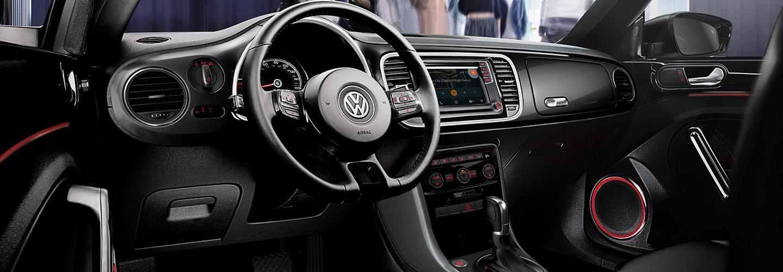 2019 Volkswagen Beetle Interior Dash, Gauges, and Navigation.