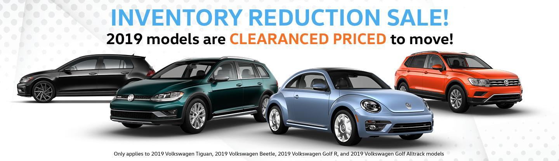 Vista Volkswagen Specials
