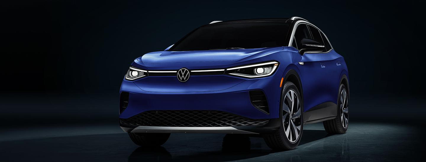 Driver-side profile image of the 2021 VW ID4