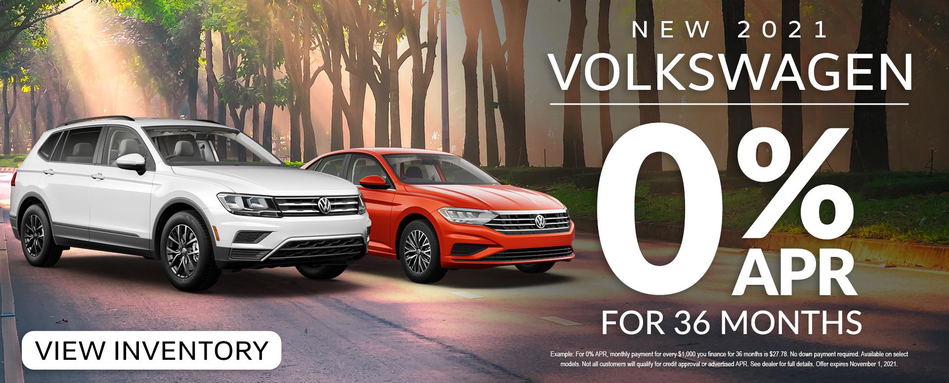 Volkswagen 0%